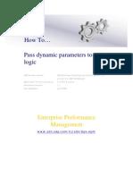 PASS DYNAMIC PARAMETER TO LOGIC