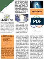 Share Fair Tri Fold Flyer