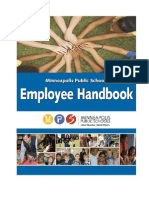 Employee Handbook-Minneapolis Public Schools
