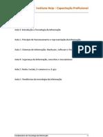 INF01 - APOSTILA FUNDAMENTOS DA TECNOLOGIA DA INFORMAÇÃO
