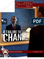 A Failure To Change
