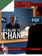 A Failure To Change