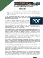BOLETÍN EMPLEO - EPH 2009 - Principales Indicadores de Empleo - Encuesta Permanente de Hogares - Paraguay - Portalguarani