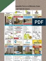 330 Proyectos Inmuebles Nuevos en Diferentes Zonas