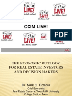 Economic Outlook for Real Estate Investors and Decision Makers