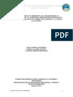 Estudio Eia Mantenimiento y Mejoramiento Vial