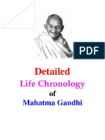 Gandhi Life_Chronology_Detailed