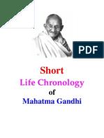 Gandhi Life_Chronology_ Short