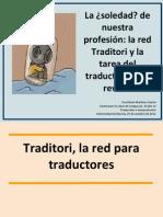 Presentación de Traditori y La figura del revisor
