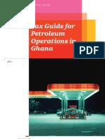 Ghana Petrol Tax Guide 2011