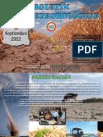 BOLETÍN AGROMETEOROLÓGICO - SETIEMBRE 2012 - PARAGUAY - PORTALGUARANI
