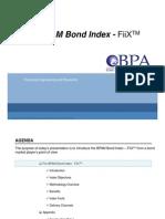 FiiX Bond Index - BPA Malaysia Road Show