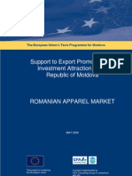 Romanian Apparel Market 1