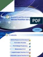 Presentasi Research and Development
