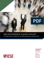 IESE - Gestión de las redes comerciales en España 2010