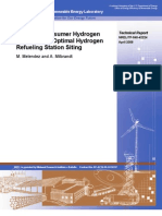 Hydrogen Fuel Station Siting Assessment