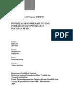 8-pembelajaranoperasihitungperkalianpembagianpecahansd-091123103450-phpapp01