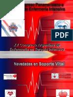 IV CONGRESO PANAMERICANO ENFERMERIA INTENSIVA - CAMBIOS GUIAS  2010
