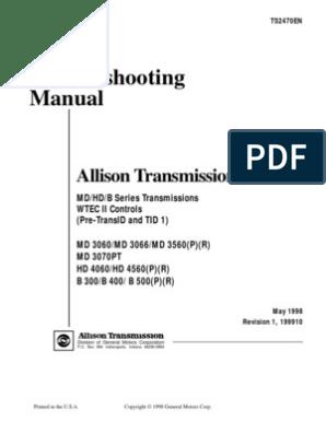 Allison Md3060 Wiring Diagram - Wiring Diagram Best