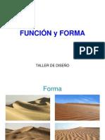 FUNCIÓN Y FORMA