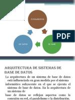 Diapositivas-Arquitectura de Base de Datos