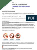 Alto Ataques de Panico Y Ansiedad Sin Opt In