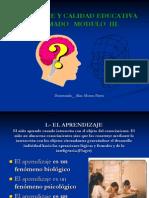 Aprendizaje y Calidad Educativa Exp. Alan Alvarez Flores