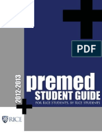 Rice Premed Student Guide 2012