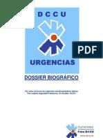 Dossier biografico plataforma dccu