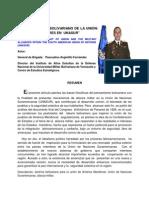 EL PENSAMIENTO BOLIVARIANO DE LA UNIÓN