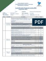 Planificación PTQ II - 2012