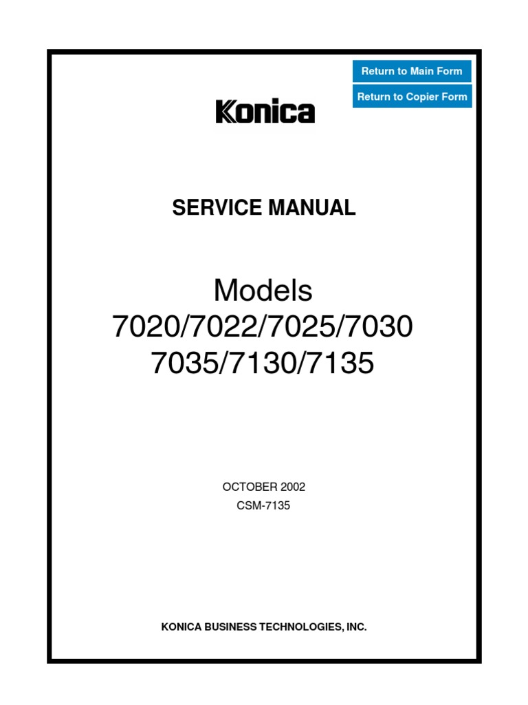 Konica_7020_7022_7025_7030_7035_7130_7135_sm | Ac Power Plugs And Sockets |  Manufactured Goods
