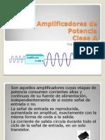 Amplificadores de Potencia-Clase A