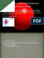 Teori Atom Mekanika Kuantum Dan Ikatan Kimia