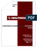 Health South Corporation - Corporate Governance