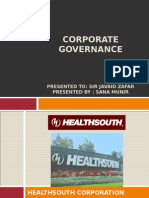 Health South Corp - Accounting Scandal