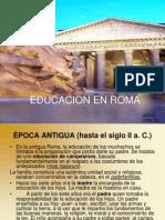 Educacion en Roma