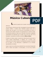 1.- Música Cubana