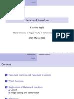 Hadamard Codes 2
