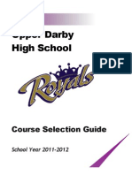 Upper Class Course Selection Guide 11-12 Doc