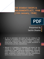 Bombay Op Act