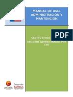 Manual de Uso, Administración y Mantención Centro Civico