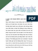 Dinh Gia Co Phan Thuong