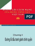 Đường lối DCS Chương II
