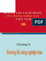 Đường lối DCS Chương IV