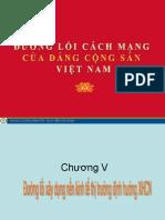Đường lối DCS Chương V