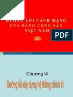 Đường lối ĐCS chương VI