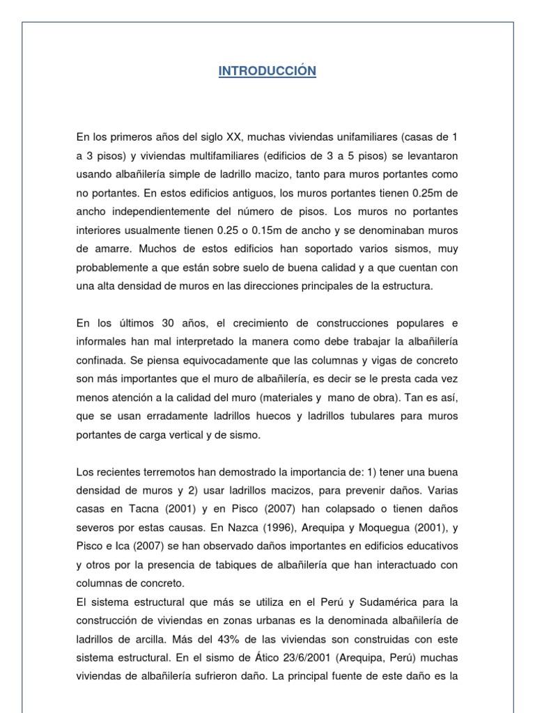 Ensayos realizados a Unidades de Albañilería - photo#26