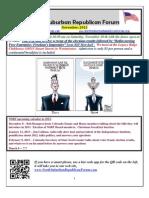 NSRF November 2012 Newsletter