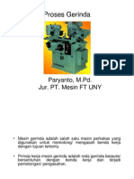 (PPt) Materi 6. Proses Gerinda (Grinding)